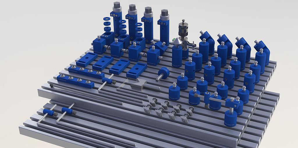 MATRIX-BlueClamp-X-Support-SXS