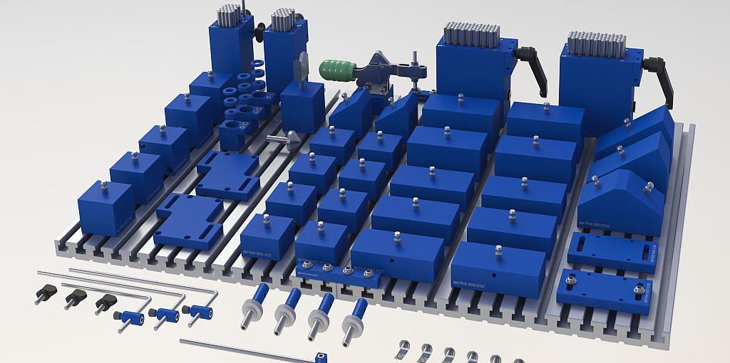MATRIX-BlueClamp-X-Support-XL